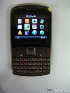 MOTOROLA EX112 UNLOCKED QUAD BAND GSM 3G CELL PHONE AT&T T MOBILE NEW