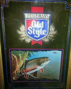 Old Style Brook Trout 1992 First in The Wildlife Series Mirror Frame