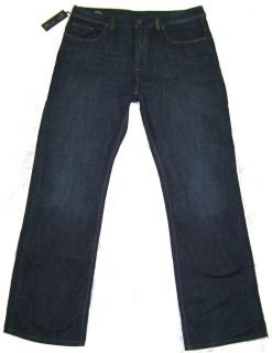 Buffalo David Bitton Ruffer Jeans 36x30 Dark New $80