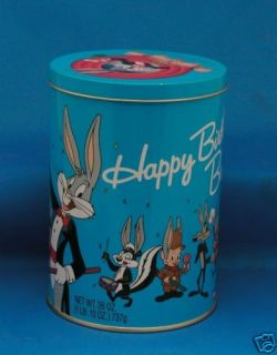 Bugs Bunny Collectible Candy Tin 1991 Brachs Jelly Bean