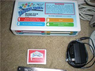 Design Card Converter Magic Box for Embroidery Machine