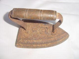 Antique Vintage Cast Iron Flat Sad Pressing Iron 6