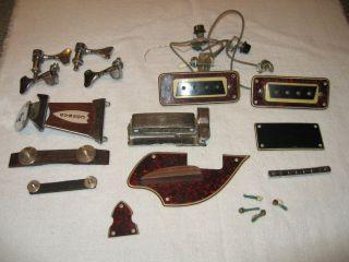 parts or repair vintage conrad electric violin bass guitar. Black Bedroom Furniture Sets. Home Design Ideas