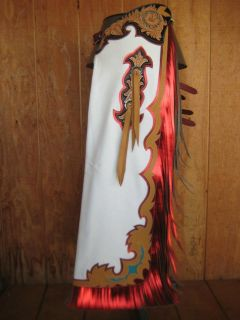 Custom Made Bull Riding Rodeo Chaps