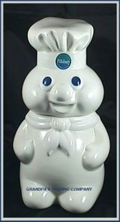 Pillsbury CHEF Doughboy Poppin Fresh Cookie Jar Vintage 1998 Benjamin