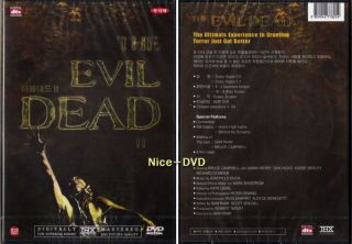 The Evil Dead II 1987 DVD New SEALED Bruce Campbell
