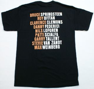 Bruce Springsteen E Street Band T Shirt Black Rock Roll Music