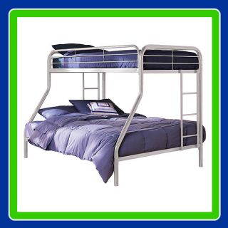 Twin Over Full Metal Bunk Bed Dorel Sturdy Frame Bed 30 Day Returns