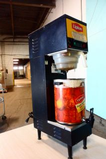 Heavy Duty Commercial Cecilware Ice Tea Brewer w 3GL Urn