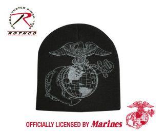 SKULL CAP USMC MARINES MARINE CORPS GLOBE & ANCHOR ROTHCO 5568