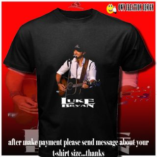 The Loom Luke Bryan Country Music Man Singer CD T Shirt s s XXL