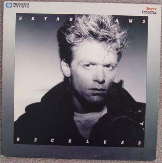 Bryan Adams Reckless 6 Rock Videos RARE Laserdisc Edition