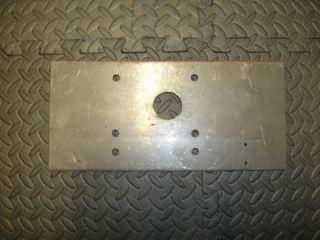 Racing Lawnmower Transmission Plate