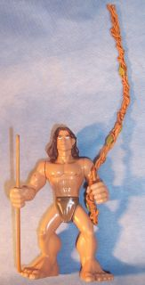 Burroughs Disney Animated Movie Tarzan Poseable Jointed Action Figure