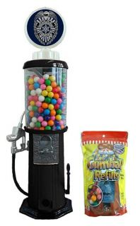 police officer retro gas tank bubble gum machine