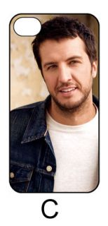 LUKE BRYAN Hard Back Case Cover for iPhone 4 4S