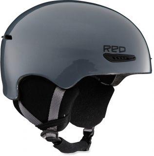 New Red by Burton Avid Ski Snowboard Snowports Helmet Gunmetal Medium