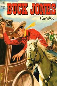 Complete Buck Jones Comics Books on DVD TV Western Cowboy Golden Age