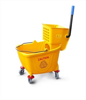 PC Commercial MOP Bucket 36 Qt w Wringer Yellow