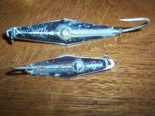 James Clark Fish Tackle Box Fishing Spoon Lures