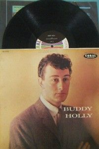Buddy Holly 1964 Vinyl LP Record Coral CRL 57210 Classic Rockabilly