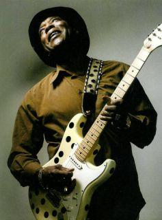 Buddy Guy Fender Stratocaster Guitar Print Ad