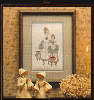 Buckley Moss Cross Stitch Sisters 102