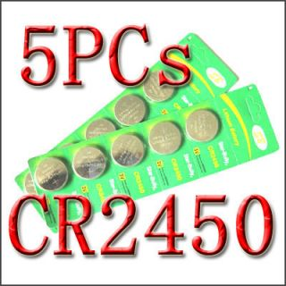 CR2450 DL2450 LM2450 Lithium Button Coin Cell Battery