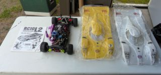 RC10L2 ESSO ULTRON Race Cars Road Oval Kit 1 10 Scale World Champion