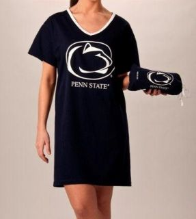 Penn State University Womens Night Shirt Tee with Bag