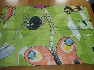 IKEA Insects Lady Bugs Butterfly Character Pillow case/SHAM (Fabric