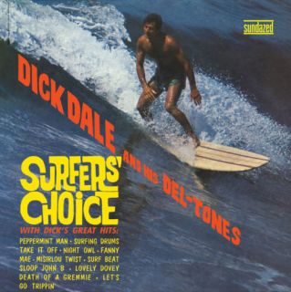 Dale Surfers Choice Wild 60s Surf Sundazed CD 090771118424