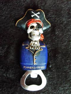 Buffett Margaritaville Pirate Magnetic Bottle Opener