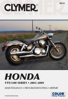 Clymer Repair Manual Honda VTX1300 C R s T 03 09