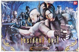 Resident Evil Deck Building Game Alliance