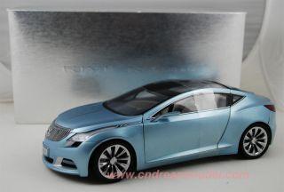 18 Buick Riviera Concept Car Die Cast Model Blue