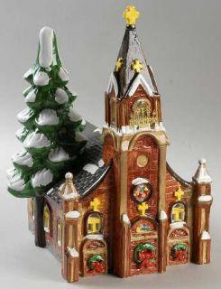 manufacturer department 56 pattern snow village piece gothic church