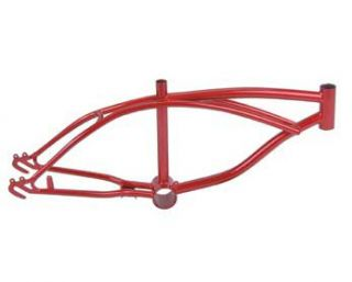 "16"" Red Lowrider Bicycle Frame Bike Chopper Cycling"