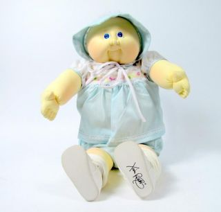 GAE Jacklyn Cabbage Patch Soft Sculpture Baby Doll Xavier Roberts 1984