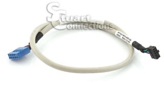 Dell 9 Pin 17 inch White Gray Media Card Reader Cable NT424
