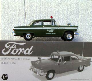 ARMY MILITARY POLICE   1956 FORD TUDOR SEDAN   OFFICIAL CAR