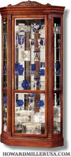 Display Corner Curio Cabinets Glass Shelves 680290 Embassy