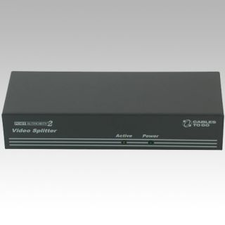 Cables to Go Port Authority 29552 8 Ports External Video Splitter