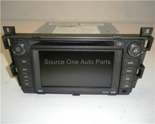 08 09 Cadillac DTS Navigation Unit CD DVD 25815695 U3Q