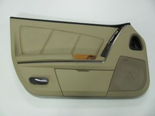 2004 2008 Cadillac XLR Door Panel Driver Left Side LH