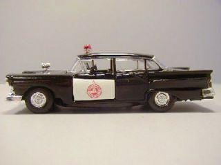 NEBRAKA SAFETY PATROL   1957 FORD FAIRLANE POLICE CAR   ROAD CHAMPS 1