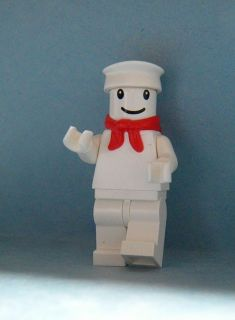 Marshmallow Man GHOSTBUSTERS LEGO Mini figure NOT CUSTOM Bunny Head