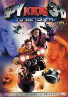 Spy Kids 3 D Game Over 2 Disc DVD Set 786936230550