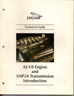 Jaguar AJ V8 Engine and 5HP24 Transmission Introduction Technical
