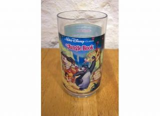 Disney The Jungle Book Burger King Promo Plastic Cup